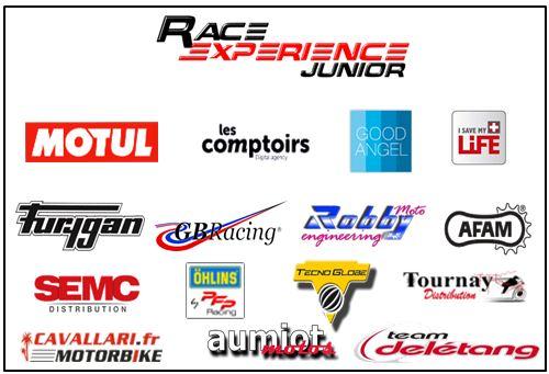 Partenaires Race Experienec Junior