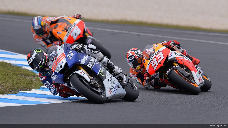 MotoGP Lorenzo Marquez Pedrosa